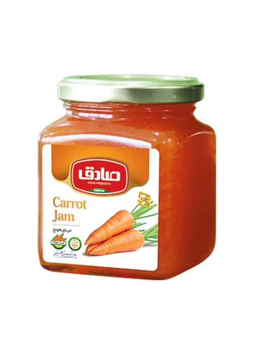مربای هویج صادق
